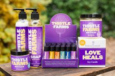 Thistle Farms Products: Most under $15 and profits go to a very important charity.