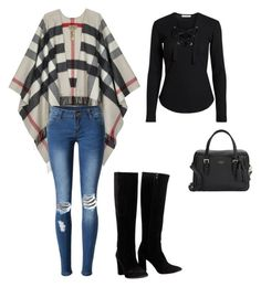 """""""Casual daytime"""" by downtowngal72 on Polyvore featuring Burberry, WithChic, Chloé and Kate Spade"""