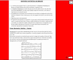 El Lenguaje Musical de Fátima: SINFONÍA FANTÁSTICA de BERLIOZ