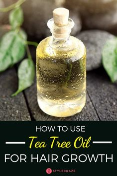 How To Use Tea Tree Oil To Promote Hair Growth: Thinning hair is every woman's worst nightmare. Here are some remedies that can help stimulate hair re-growth and boost the rate at which your hair grows. Tea Tree Oil Hair, Tea Tree Oil Uses, Hair Oil, Thinning Hair Remedies, Hair Remedies For Growth, Hair Loss Remedies, Tee Tree Oil, Natural Hair Growth, Diy Hair Growth Oil