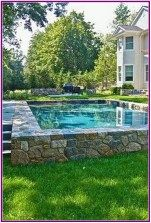 Above Ground Pool Ideas - In the summer, people like spending few hours in the swimming pool. However, you may hate the way your above ground pool looks in your backyard. Backyard Pool Landscaping, Backyard Pool Designs, Small Backyard Pools, Small Pools, Swimming Pools Backyard, Swimming Pool Designs, Pool Spa, Landscaping Ideas, Boxwood Landscaping