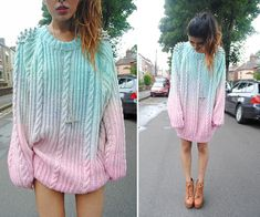 Youwearfashion Diy Studded Chnky Oversized Knitted Jumper, Jeffrey Campbell Litas