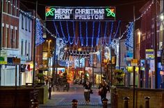 Preston Christmas lights 2014