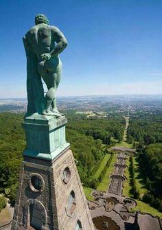 Bergpark Wilhelmshöhe Hercules Monument - Kassel, Germany