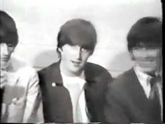 """Beatles Interview; Texas 1964.  I love them! """"I got punched in me face a few times, but I mean, that's part of life, isn't it?"""""""