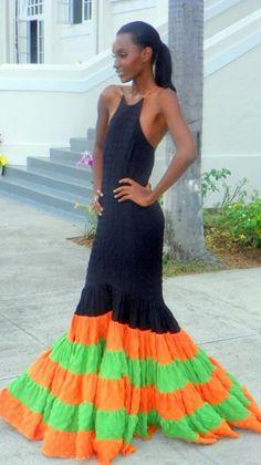 Courtney Washington's Mermaid Look