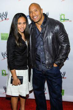 Dwayne Johnson & daughter