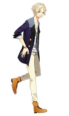 Anime guy | he looks like one of those guy's in a walk through game
