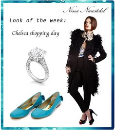 Look of the week: Chelsea shopping day Shop it on: nina-naustdal.com/shop/