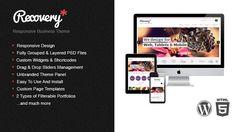 Recovery – Responsive WordPress Template