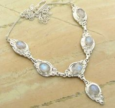 25.75ctw Genuine Rainbow Moonstone & .925 Sterling Silver Plated Brass Necklace (SJHN0093RMS) #fashionnecklaces #beautifulnecklaces #cheapnecklaces #silvernecklacesforwomen #necklacependants #silvernecklaceslong #silvernecklace #personalizednecklaces #womensnecklace #silvernecklaceformen #menssilvernecklace #mennecklaces #mensnecklaces #gemstone necklaces Buy Now:  http://www.sterlingsilverjewelry.tv/genuine-rainbow-moonstone-silver-plated-brass-y-necklaces-sjhn0093rms.html