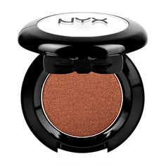 NYX's Hot Singles are intense! Whether your looks is edgy or natural, NYX's unique formulation is easy to blend and build on. 88 amazing shades inspired by the latest fashion runway trends. Eyeliner, Nyx Eyeshadow, Eyeshadow Looks, Makeup Dupes, Copper Eyeshadow, Eyeshadow Ideas, Makeup Kit, Makeup Ideas, 2017 Makeup