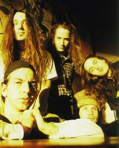 Pearl Jam. grunge biotches know how to wear their hats and shave their hair into a mohawk using a fucking buck knife bitch. Put that in my grunge book. Dear Kurt. It's true. we know. let's help then. We are. Good. Come get me.