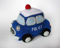 Buy Police car amigurumi pattern - AmigurumiPatterns.net