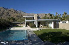 New Desert Landscape Architecture Richard Neutra Ideas - Modern Richard Neutra, Modern Landscape Design, Modern Landscaping, Modern House Design, Desert Landscape, Mountain Landscape, Modern Exterior, Exterior Design, Residential Architecture