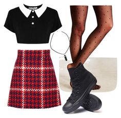 Untitled #23 by person-on-this-app on Polyvore featuring polyvore fashion style Miu Miu Converse
