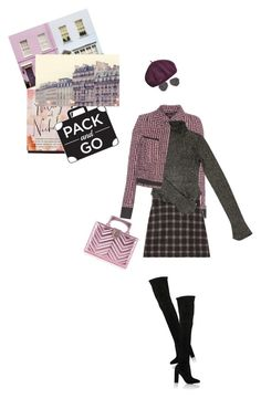 """""""Pack and Go: Winter Getaway"""" by slavicabojanovic ❤ liked on Polyvore featuring Haider Ackermann, Gucci, Balenciaga, Gianvito Rossi, Chopard, WALL and Packandgo"""