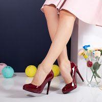 pantofi_dama_stiletto_5 Stiletto Heels, Kitten Heels, Pumps, Shoes, Fashion, Moda, Zapatos, Shoes Outlet, Fashion Styles