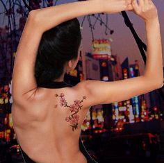 Znalezione obrazy dla zapytania black ivy cherry tattoo