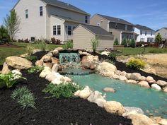 Waterfalls - Backyard / The Landscape Shop