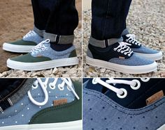 #Vans California Era Polka Dots