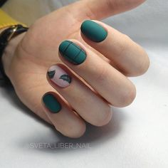 On average, the finger nails grow from 3 to millimeters per month. If it is difficult to change their growth rate, however, it is possible to cheat on their appearance and length through false nails. Matte Nails, Acrylic Nails, Fun Nails, Pretty Nails, Nail Decorations, Perfect Nails, Shellac, Manicure And Pedicure, Natural Nails