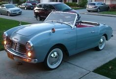 Learn more about Fairest Lady: 1960 Datsun Roadster on Bring a Trailer, the home of the best vintage and classic cars online. Datsun Roadster, Datsun Car, Peugeot, Quad, Convertible, Classic Japanese Cars, Ferrari, Classy Cars, Classic Sports Cars