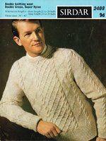 d409c6eacb4 Instant Download Knitting Pattern Men s by KenyonDownloadBooks