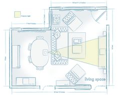Living + Workspace layouts | Visual Vocabularie