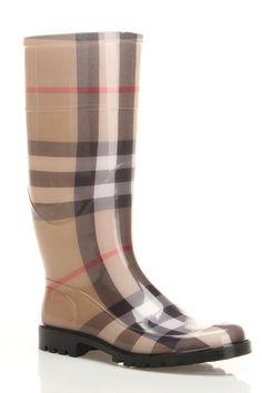 burberry rain boots online