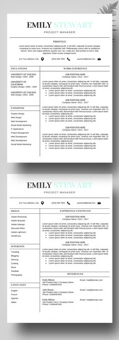 creative resume templates for freshers free download for microsoft word