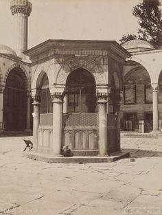 Sultan Ahmet Camii Şadırvanı Abdullah Fréres / 1880