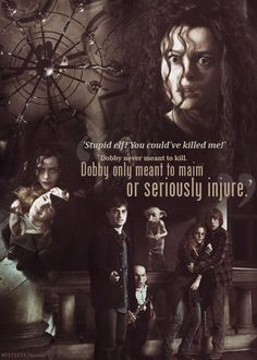 This Was The Only Time I hated Bellatrix Was When She Killed Dobby & Harmed Hermione....Bitch