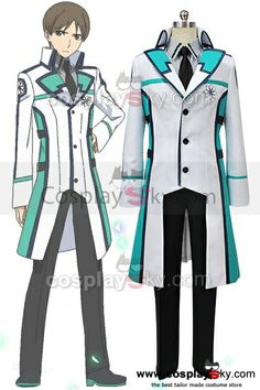 The Irregular at Magic High School Hanzo Gyoubushoujo Hattori Outfit Cosplay Costume $89.00 http://cosplaysky.com/the-irregular-at-magic-high-school-hanzo-gyoubushoujo-hattori-outfit-cosplay-costume.html