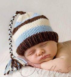 Hermosos Gorros Tejidos Para Bebe