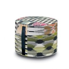 cylinder #colored #pouf  // Missoni Home