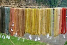 What are the environmental impacts of dyeing wool and yarn? How can we make ethical choices and still enjoy the colourful world of wool and yarn? Shibori, Textiles, How To Dye Fabric, Texture Art, Fabric Painting, Creations, Wool, Colorants, Natural Dyeing
