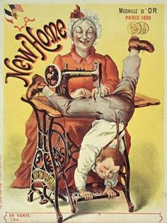Old Sewing Machine Ads Are Creepy – Quilter's Bug