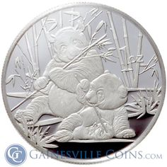 Purchase 1 oz Silver Panda Rounds at Gainesville Coins. These fine privately minted 1 oz silver rounds are MADE IN THE USA at mints. Coin Art, Gold And Silver Coins, Silver Bullion, Activists, Silver Rounds, Modern Man, 1 Oz, Precious Metals, Pandas