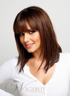 Cheryl Cole Hot Sale Top Quality Long Straight Hair Wig About 13 Inches (free shipping) www.wigsbuy.com