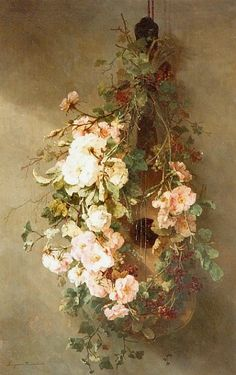 "Margaretha Roosenboom  ""A Swag of Roses""  19th century"