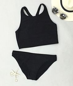 Take your breath away along with it-Only $17.99! Lead fashion wave with Black Dream Walker Tank Bikini Set. Save more ones at Cupshe.com !
