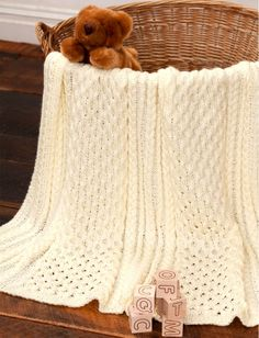 6 Free Baby Blanket Crochet Patterns