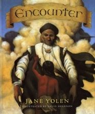 A Taino Indian boy on the island of San Salvador recounts the landing of Columbus and his men in 1492.  FIC YOL