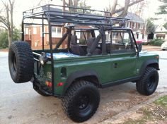 Custom Expedition Rack 1995 Land Rover Defender 90 - Defender http://www.defendersource.com/forum/showthread.php?t=42828