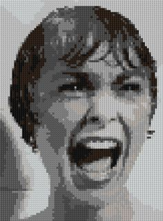 Shower Scream counted Cross Stitch Pattern Marion by shelleyfaye