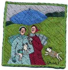Linda Millar | Machine Embroidery | http://www.lindamillerembroideries.co.uk/