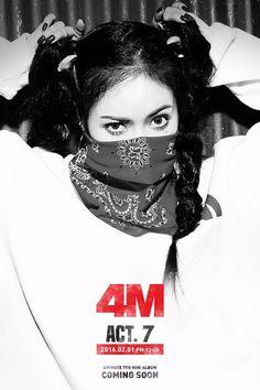 4 Minute | Act. 7 | Hate Comeback | HyunA #Kpoplove