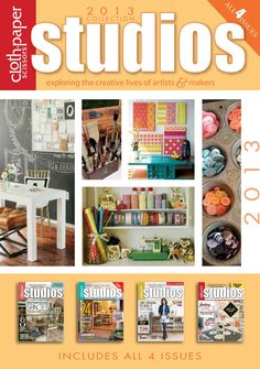 Artists' Studios: 2013 Studios Magazine CD Collection | InterweaveStore.com
