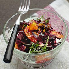 Rote-Bete-Orangen-Salat